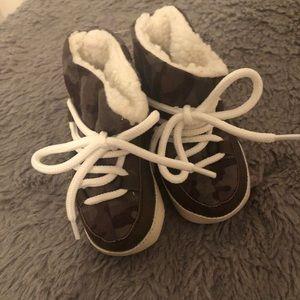 Baby Camo Booties